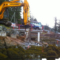 Hospital Bay Rock Removal